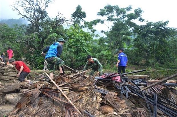 Flooding causes serious damage to Vietnam's northern mountainous region