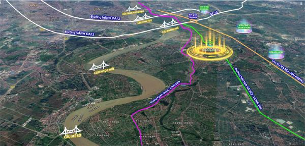 Hàng loạt dự án cầu bắc qua sông Hồng, cú hích BĐS bờ đông