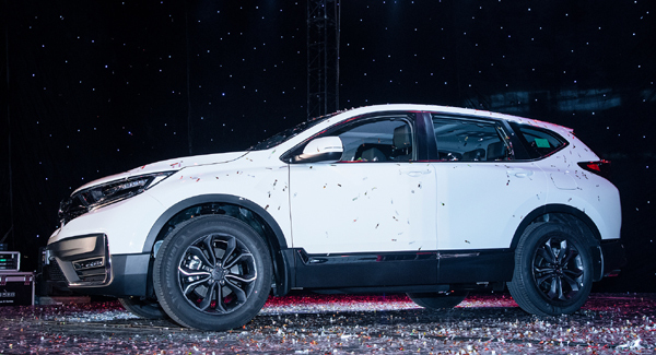 Honda Việt Nam xuất xưởng xe Honda CR-V 2020