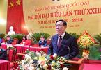 Dự ĐH Đảng cơ sở, ông Vương Đình Huệ lưu ý về công tác cán bộ