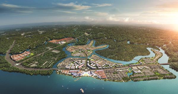 Novaland bắt tay tập đoàn lớn, từng bước hoàn thiện tiện ích tại Aqua City