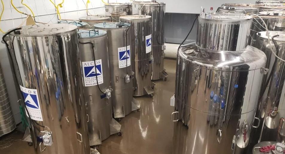Bên trong cơ sở đông lạnh 170 người chờ ngày hồi sinh