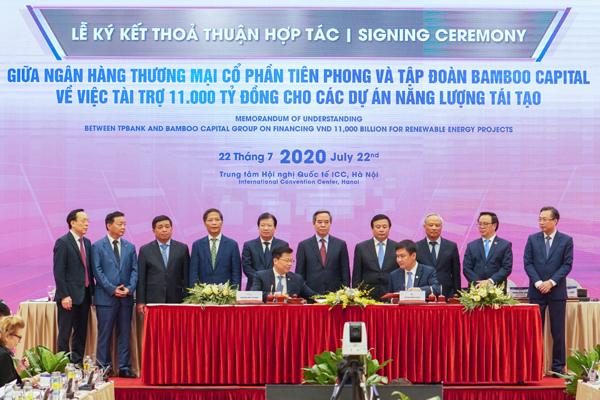 TPBank dành 11.000 tỷ đồng cho các dự án năng lượngtái tạo