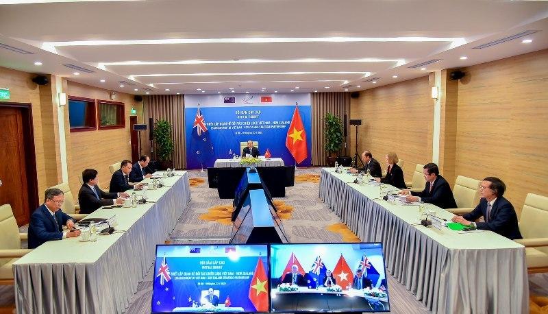 Việt Nam - New Zealand chính thức nâng cấp quan hệ lên Đối tác Chiến lược