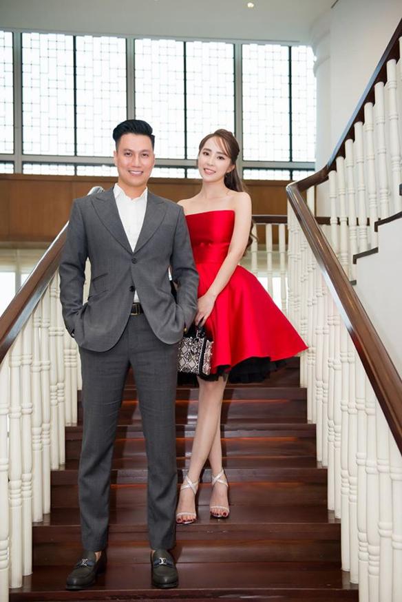 Quỳnh Nga, Việt Anh liên tục xuất hiện bên nhau