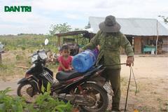 Internal migrants await resettlement land