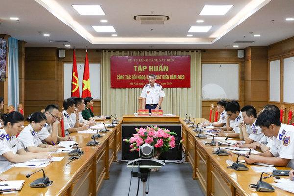 Củng cố kiến thức cho đội ngũ tham gia hoạt động đối ngoại Cảnh sát biển
