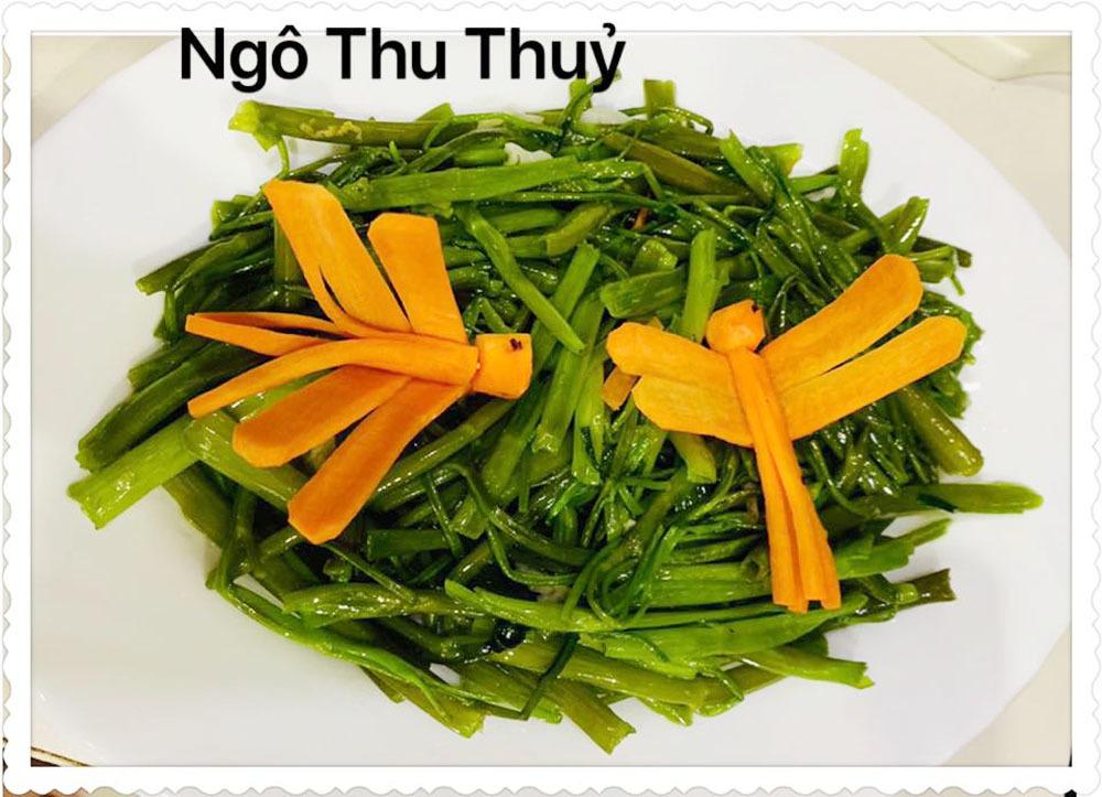 Những bữa cơm nhà ngon miệng, đẹp mắt của bà mẹ Sài Gòn