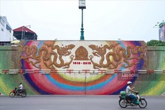 Hanoi's world-record mural road to be expanded