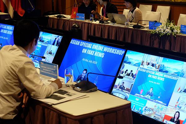 Việt Nam chủ trì Hội nghị ASEAN trực tuyến về tin tức giả mạo