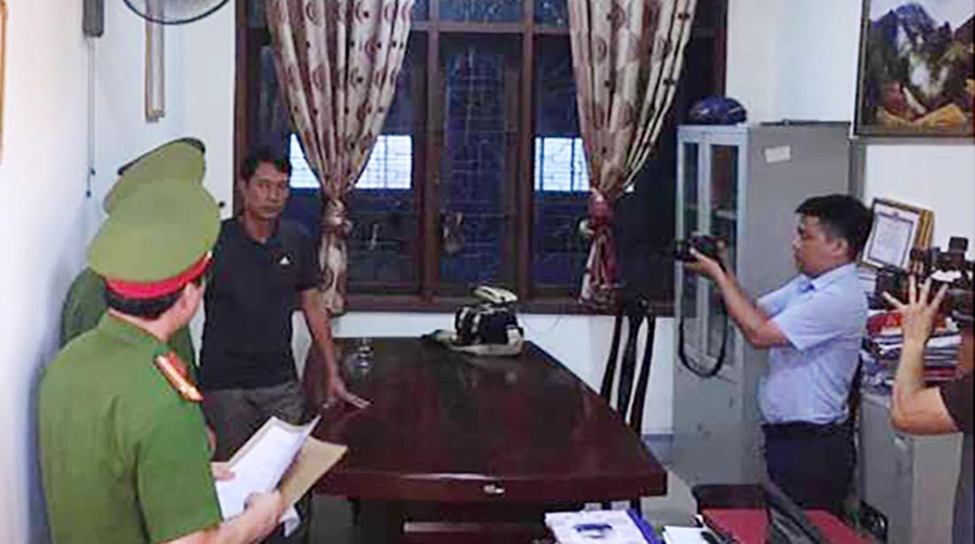 Khám xét, tạm giữ Phó Trưởng phòng Chính sách Ban dân tộc tỉnh Nghệ An