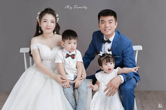 Người phụ nữ 3 con mới được mặc áo cưới và câu chuyện đau lòng phía sau
