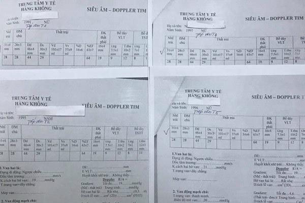 Giả mạo chữ ký trong vụ việc trăm phiếu siêu âm giống nhau