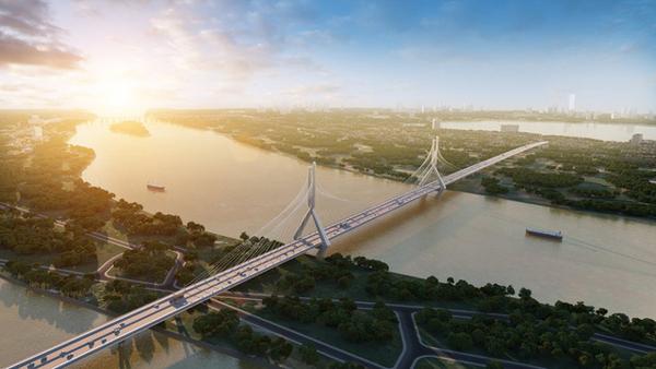 BĐS phía Bắc sông Hồng tăng nhiệt nhờ loạt dự án xây cầu
