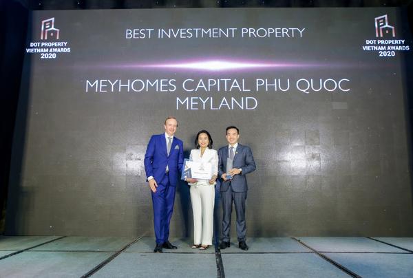 Meyland nhận giải thưởng kép tại Dot Property Vietnam Awards 2020