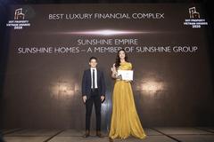 Sunshine Homes thắng lớn tại Dot Property Vietnam Awards 2020