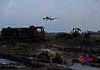 Bộ GTVT cảnh cáo 2 nhà thầu thi công ẩu đường băng sân bay Nội Bài