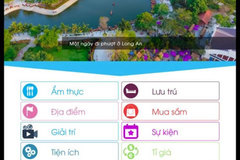 Long An launches tourism portal and app