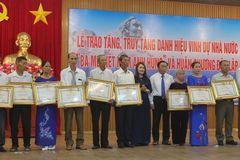 Trao tặng 84 danh hiệu bà mẹ Việt Nam Anh hùng ở Quảng Trị
