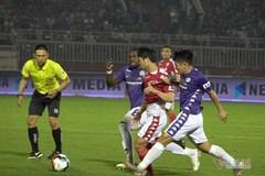 Hà Nội khiến TP.HCM ôm hận trên sân Thống Nhất