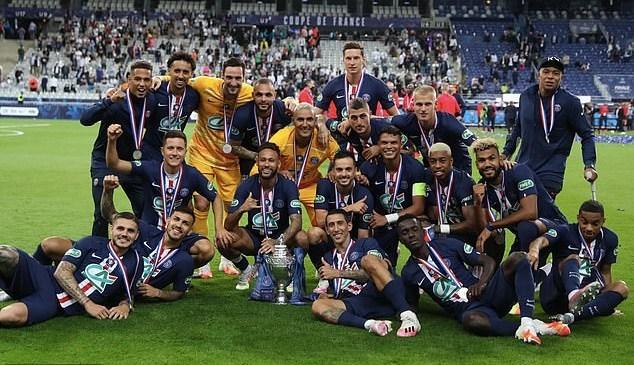 Neymar hóa người hùng, PSG lần thứ 13 đoạt cúp quốc gia Pháp