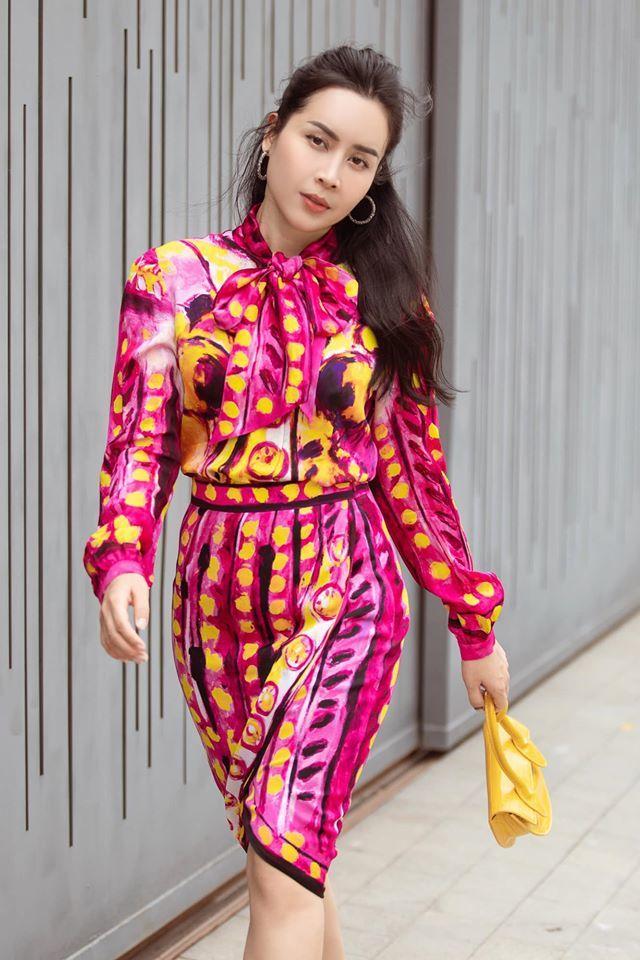 Thời trang táo bạo, sành điệu của Lưu Hương Giang