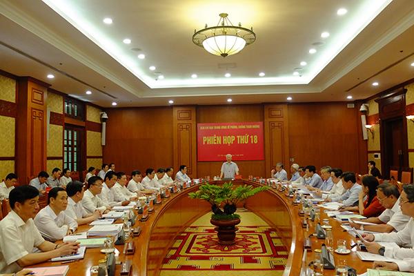 Kỷ luật sáu ủy viên, nguyên ủy viên Bộ Chính trị, Trung ương trong nửa năm