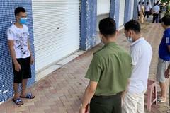 Sáu thanh niên đưa người Trung Quốc nhập cảnh trái phép bằng bè xốp