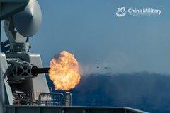 Trung Quốc tập trận ở cửa ngõ Biển Đông