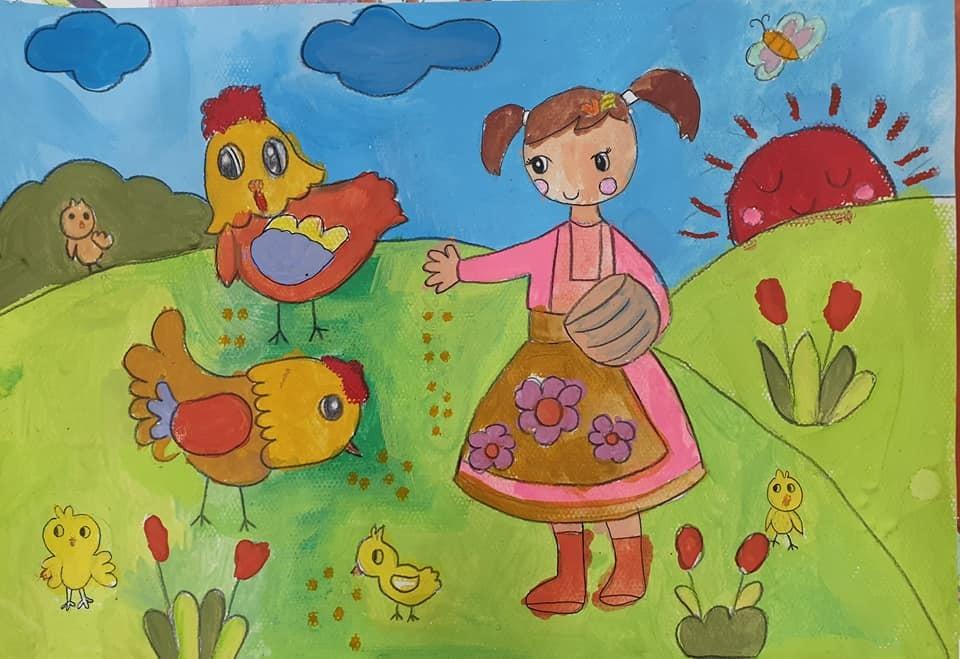 Triển lãm tranh của 40 hoạ sĩ nhí