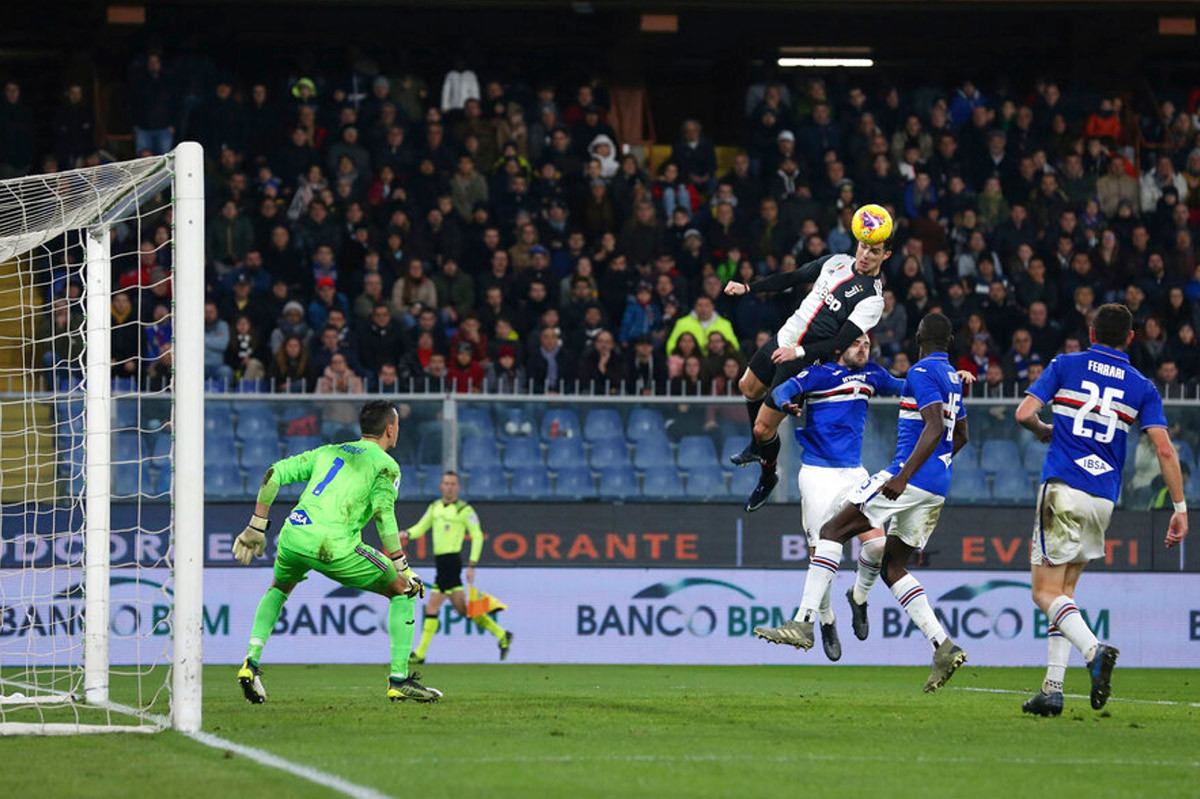 Juventus vs Sampdoria: Thiên đường thứ 9