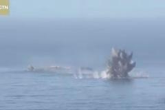 Video Trung Quốc tập trận bắn đạn thật ở Biển Đông