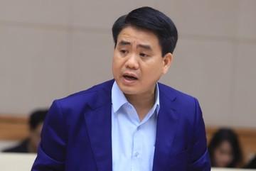 Ông Nguyễn Đức Chung xin được nộp số tiền khắc phục hậu quả