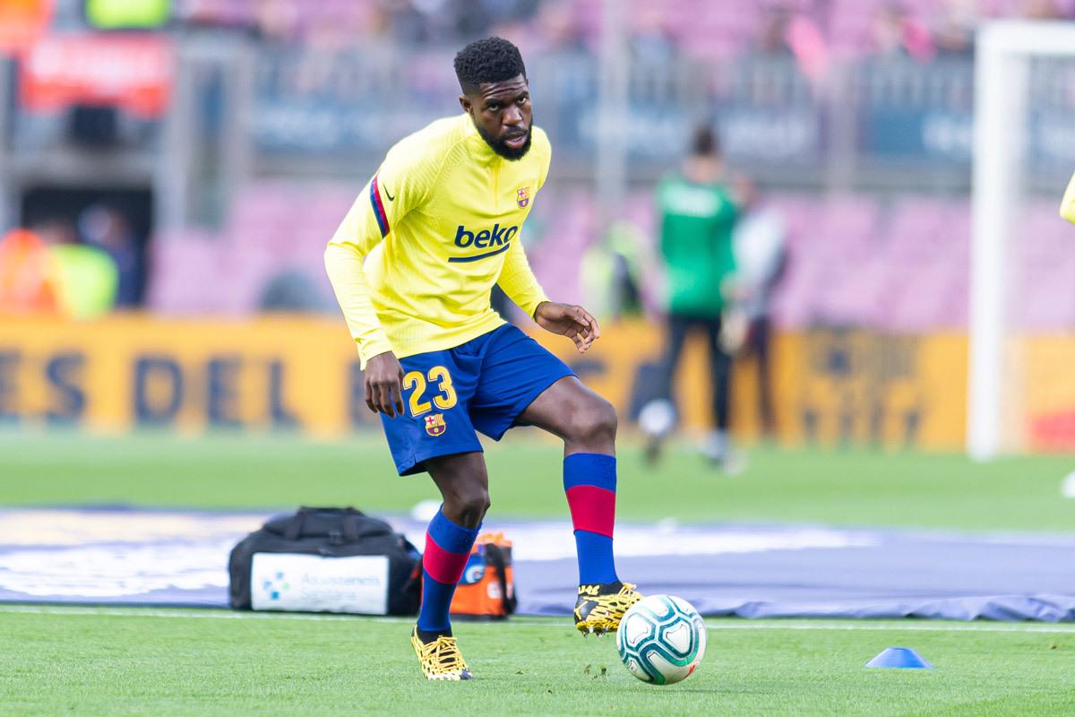 MU đàm phán Ansu Fati, Arsenal mua Umtiti