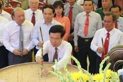 Khánh thành nhà bia tưởng niệm Ban Tuyên huấn Trung ương Cục Miền Nam