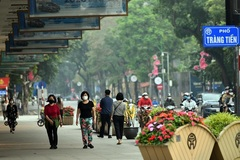 Hanoi requires face mask wearing in public places