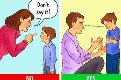 7 bước cha mẹ cần biết để ứng phó khi con cãi hỗn