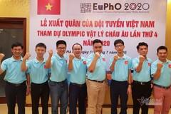 Việt Nam giành huy chương Vàng Olympic Vật lý châu Âu