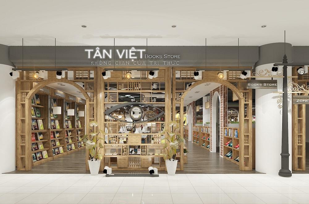 Tân Việt Bookstore hướng đến không gian sách 'tầm thế giới'