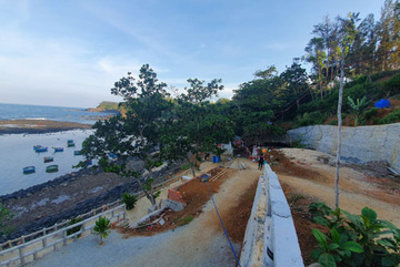 Illegal construction rampant at Quang Ngai geo-park