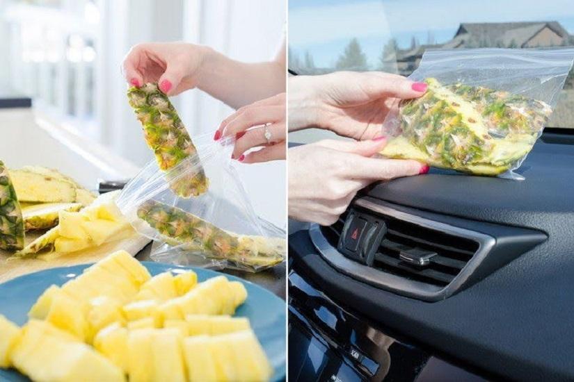 Mẹo khử mùi ô tô bằng nguyên liệu tự nhiên