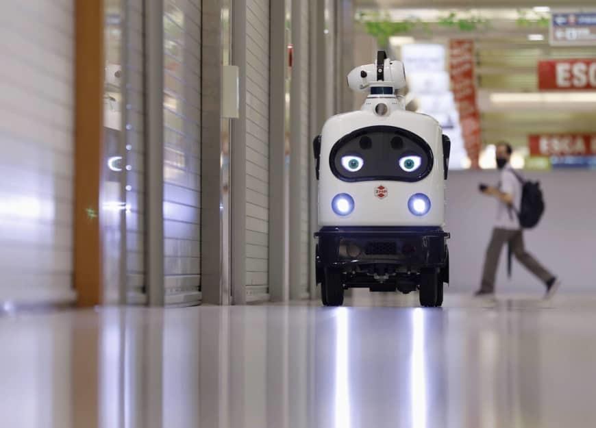 Nhật Bản sẽ triển khai robot giao hàng tự động trong đại dịch