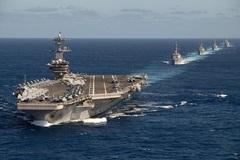 Quy mô khổng lồ của Hạm đội Thái Bình Dương Mỹ