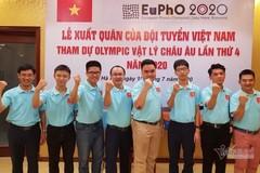 Vietnamese team enjoy big win at European Physics Olympiad 2020