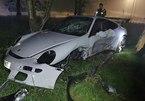 Cậu thanh niên 17 tuổi lén bố mẹ lái Porsche GT3 gây tai nạn