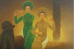 Triển lãm 'thời gian' của họa sĩ Lê Văn Nhường