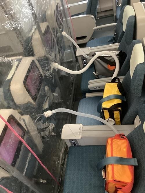 Sáng kiến giúp giảm nguy cơ lây nhiễm trên chuyến bay đón 120 ca Covid-19