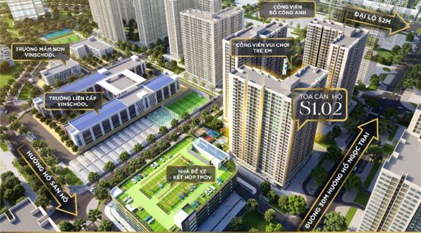 Mở bán tòa căn hộ nhiều tiện ích bậc nhất dự án Vinhomes Ocean Park