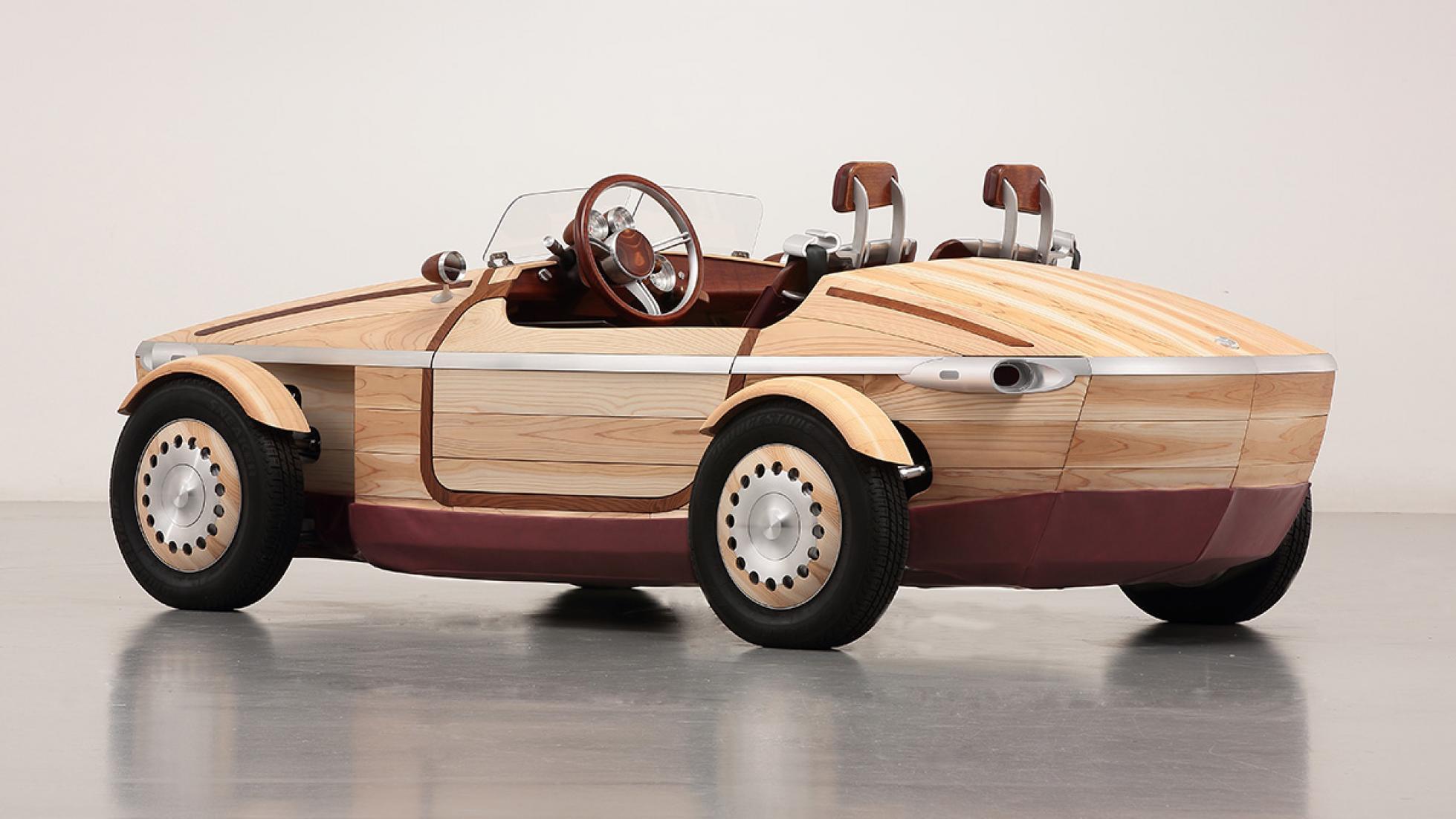 Những chiếc ô tô gỗ chạy điện Toyota Setsuna độc đáo của Nhật Bản