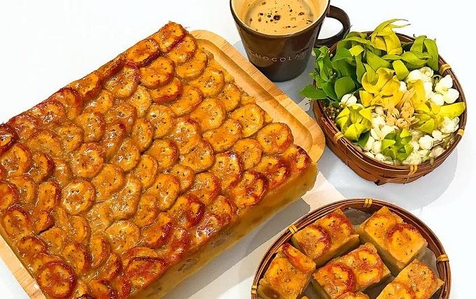 Cách làm bánh chuối nướng cốt dừa thơm ngon cho ngày mát trời